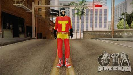 Toni Cipriani in Hero Costume для GTA San Andreas второй скриншот