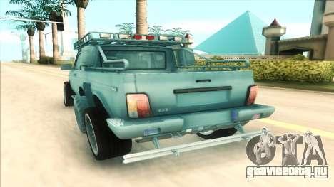 Lada Niva 6x6 для GTA San Andreas вид справа