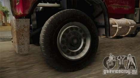 GTA 5 Vapid Towtruck Large Worn для GTA San Andreas вид сзади