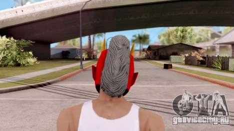 Маска Самурая для GTA San Andreas третий скриншот