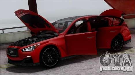 Infinity Q50 для GTA San Andreas салон