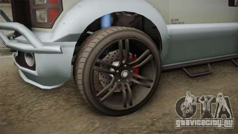 GTA 5 Vapid Sandking XL Stock для GTA San Andreas вид сзади