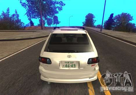 Toyota Caldina для GTA San Andreas вид справа