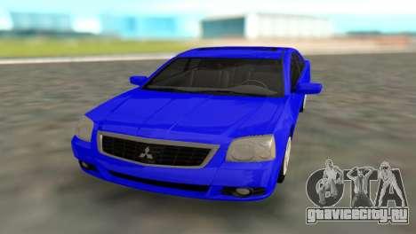 Mitsubishi Galant для GTA San Andreas вид справа