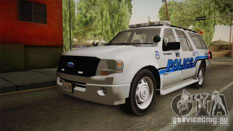 Ford Expedition 2013 SAWPD для GTA San Andreas