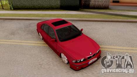 BMW M5 E39 MPOWER для GTA San Andreas вид справа