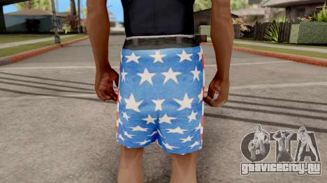 USA Shorts для GTA San Andreas третий скриншот