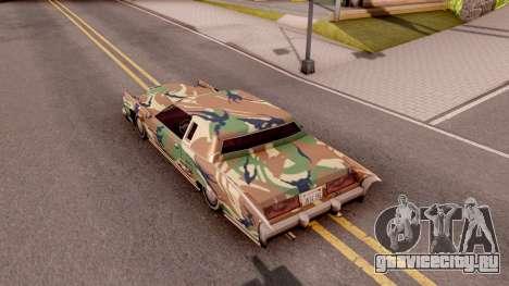 New Paintjob for Remington v3 для GTA San Andreas вид сзади