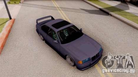 BMW M3 E36 Stanced для GTA San Andreas вид справа