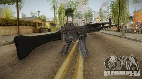Daewoo K-2 Assault Rifle для GTA San Andreas второй скриншот