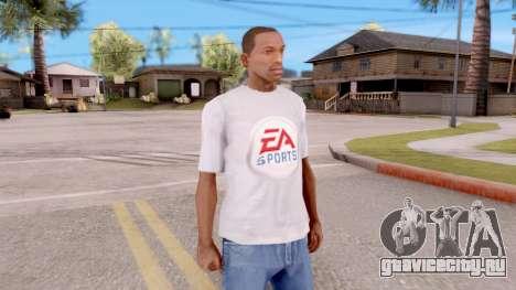 Футболка EA Sports UFC для GTA San Andreas второй скриншот