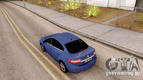 Renault Fluence 2016 для GTA San Andreas