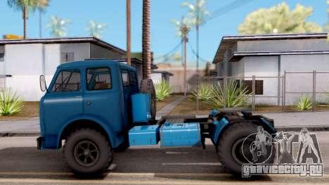 МАЗ 504 для GTA San Andreas вид слева