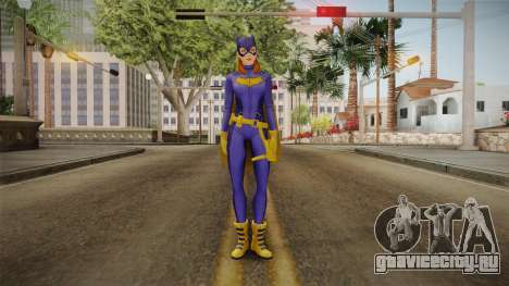 DC Legends - Batgirl для GTA San Andreas второй скриншот