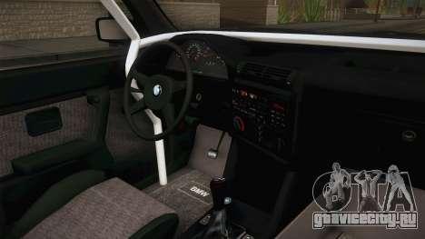 BMW M3 E30 Rocket Bunny для GTA San Andreas вид изнутри