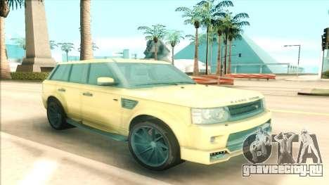 Range Rover Arden Design для GTA San Andreas