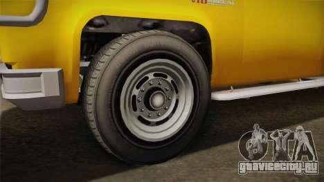 GTA 5 Vapid Bobcat XL для GTA San Andreas вид сзади