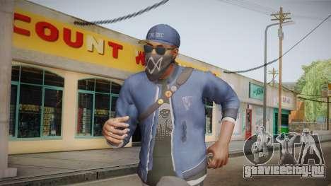 Watch Dogs 2 - Marcus v1.1 для GTA San Andreas