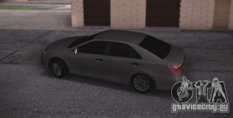 Toyota Camry для GTA San Andreas вид слева