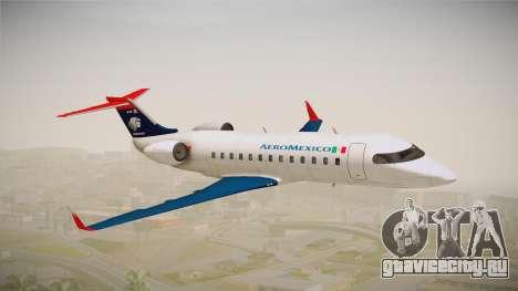 GTA 5 Buckingham Starjet Aeromexico для GTA San Andreas вид сзади слева