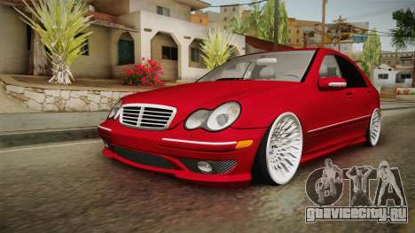 Mercedes-Benz C32 AMG Stanced для GTA San Andreas