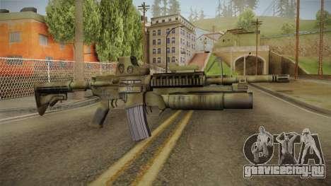 M4A1 Holo для GTA San Andreas