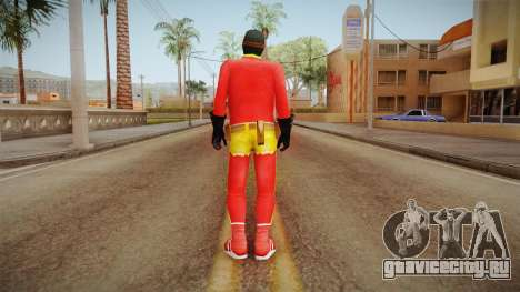 Toni Cipriani in Hero Costume для GTA San Andreas третий скриншот