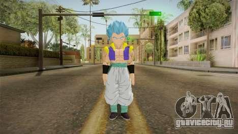 DBX2 - Gotenks SSJB для GTA San Andreas второй скриншот