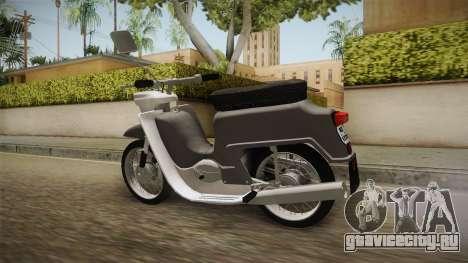JAWA 50 Pionyr для GTA San Andreas вид слева