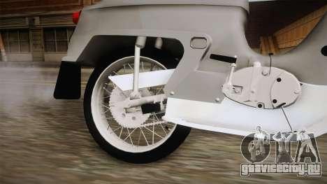 JAWA 50 Pionyr для GTA San Andreas вид изнутри