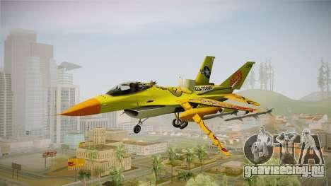 FNAF Air Force Hydra Chica для GTA San Andreas вид сзади слева