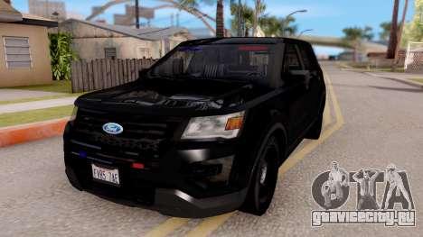 Ford Explorer FBI для GTA San Andreas