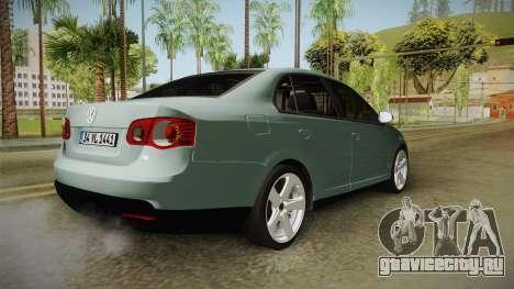 Volkswagen Jetta 2007 для GTA San Andreas вид справа