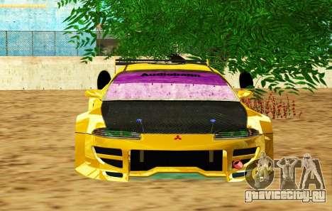 Mitsubishi Eclipse GST 1999 для GTA San Andreas