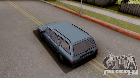 Tofas Kartal SLX для GTA San Andreas вид сзади