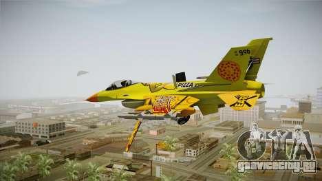 FNAF Air Force Hydra Chica для GTA San Andreas вид справа