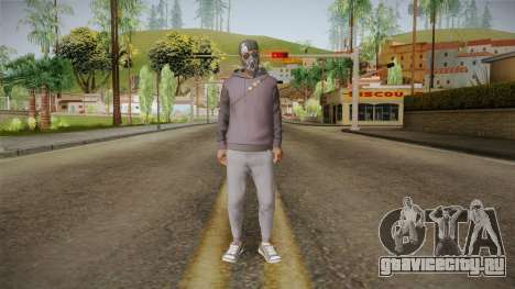 Watch Dogs 2 - Marcus v2.1 для GTA San Andreas второй скриншот