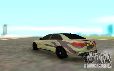 Brabus S63 для GTA San Andreas вид сзади слева