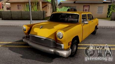 Cabbie New Texture для GTA San Andreas
