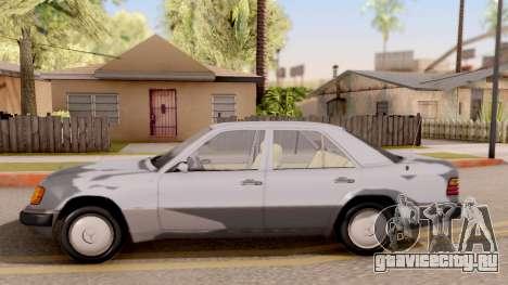 Mercedes Benz W124 для GTA San Andreas вид слева