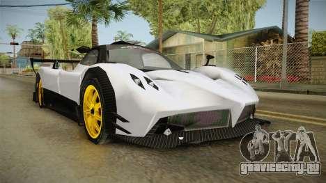Pagani Zonda Low для GTA San Andreas
