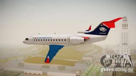GTA 5 Buckingham Starjet Aeromexico для GTA San Andreas вид слева