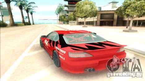 Nissan Silvia S15 NGK Red для GTA San Andreas вид справа