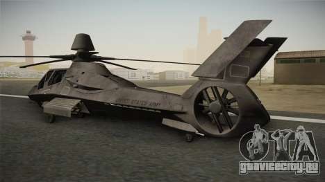 RAH-66 Comanche для GTA San Andreas вид слева