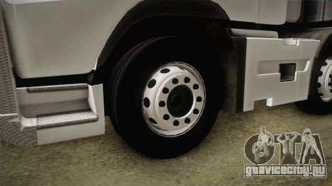 Volvo FH16 660 8x4 Convoy Heavy Weight для GTA San Andreas вид сзади