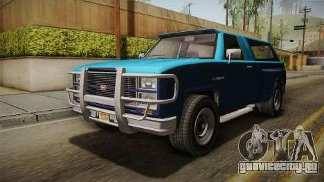 GTA 5 Vapid Bobcat S IVF для GTA San Andreas вид сзади слева