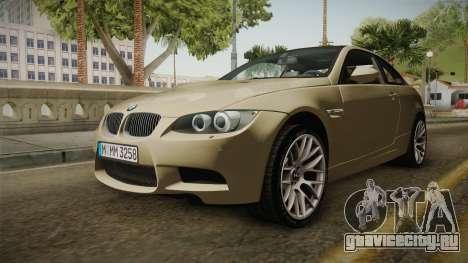 BMW M3 E92 2012 Itasha PJ для GTA San Andreas вид справа