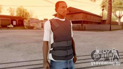 Бронежилет поверх футболки для GTA San Andreas второй скриншот