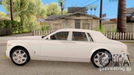 Rolls-Royce Phantom (VII) для GTA San Andreas вид слева