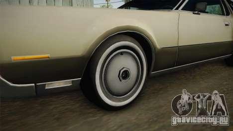 Lincoln Continental Mark IV 1972 для GTA San Andreas вид сзади